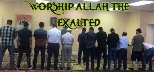 Prayer in the Musallah